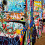Cadillac Ranch Roadside Attraction in Amarillo, TX