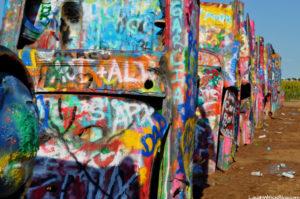 Cadillac Ranch Roadside Attraction in Amarillo, TX