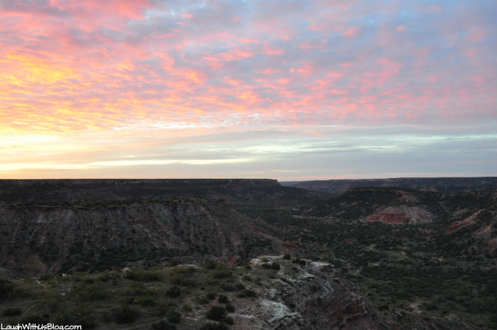 amarillo-palo-duro-canyon-morning