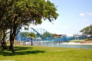 Wave Breaker: The Rescue Coaster at SeaWorld Texas!