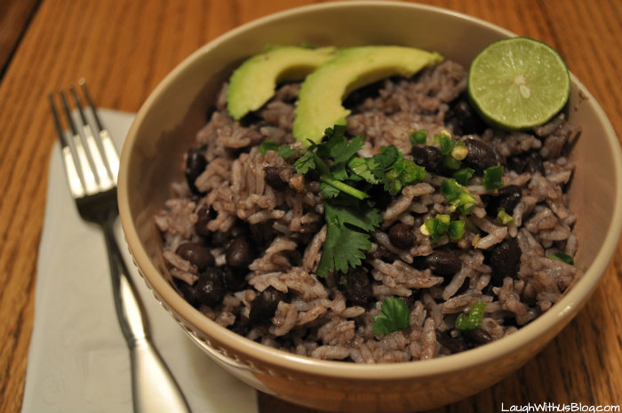 Gallo Pinto Black Beans and Rice