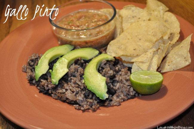 Gallo Pinto Nicaraguan Black Beans and Rice
