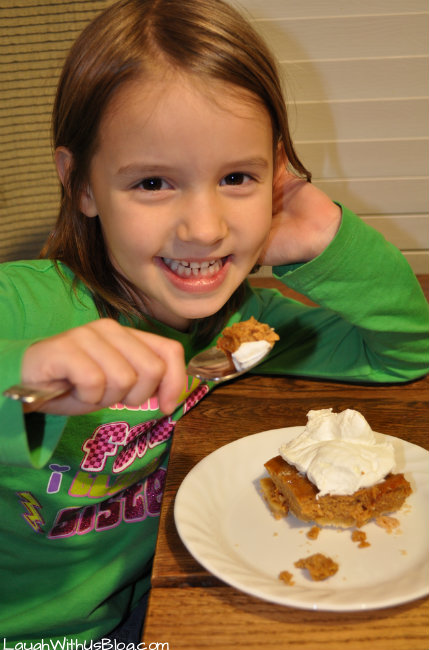 Pumpkin Shortbread Dessert recipe