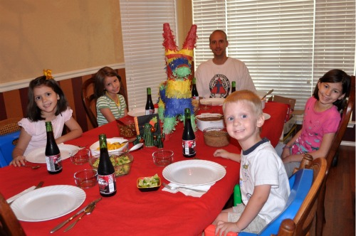 Mexican Themed Family Meal 2011 Celebrate With Us Link Up
