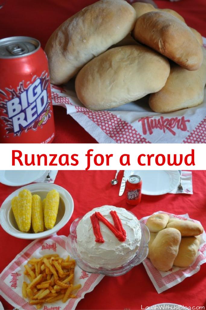 Runza recipe for a crowd