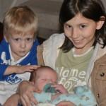 Bobby Three Weeks Old