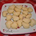 Valentine's Day Heart Shaped Dinner Rolls