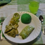 Green St. Patrick's Day Lunch for the Kids