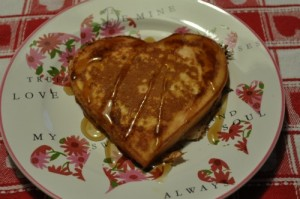 How to Make Heart Shaped Pancakes