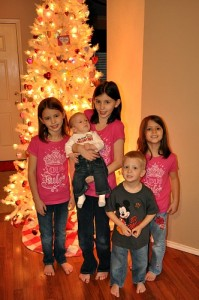 Decorate a Tree–Our Valentine Tradition