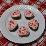 Valentine Heart-Shaped Mini Cupcakes