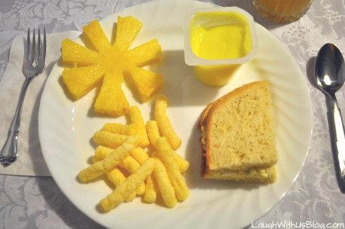 Yellow-Food-Menu