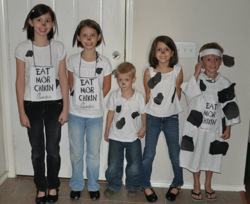 Cow dress up pictures