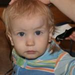 Bobby's First Hair Cut