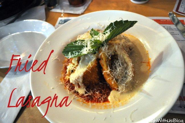 Fried Lasagna