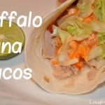 Jason's Buffalo Tuna Tacos