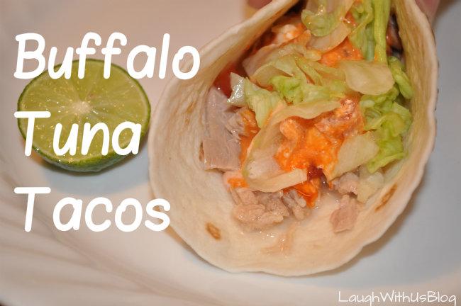 Buffalo Tuna Tacos