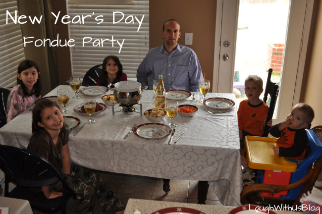 New Year's Day Fondue Party