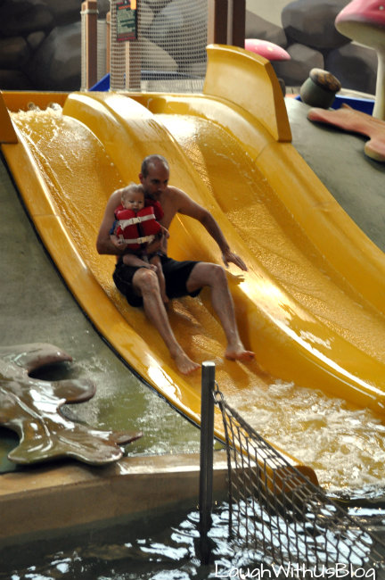 Great Wolf Lodge baby slides