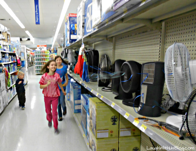 Fun at Walmart