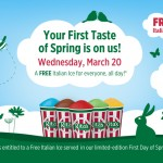 Celebrate Spring with a FREE Rita's Italian Ice