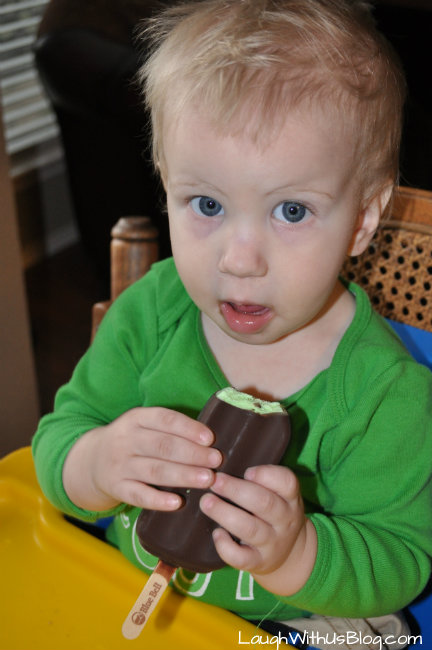 St. Patricks Day Ice cream