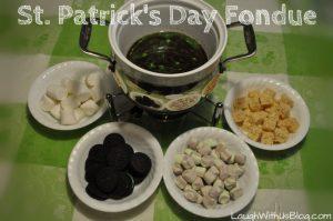 St. Patrick's Day Fondue