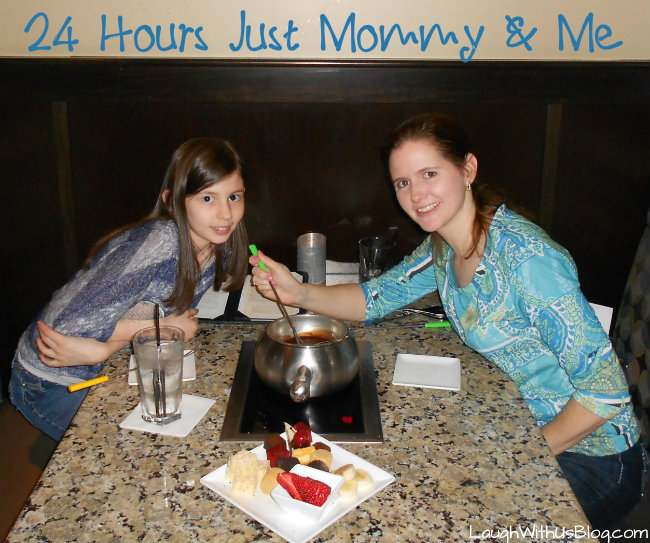 24 Hours Just Mommy & Me