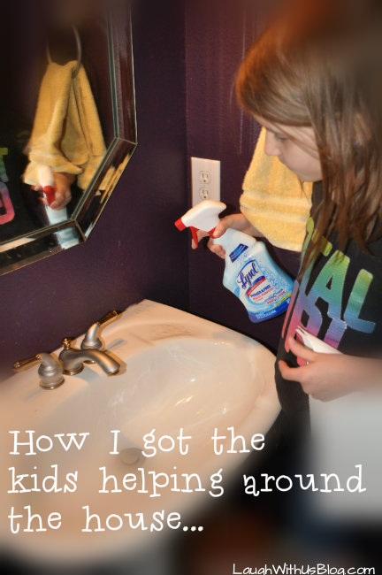 Lysol Power & Free at home