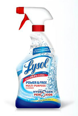 Lysol Power & Free