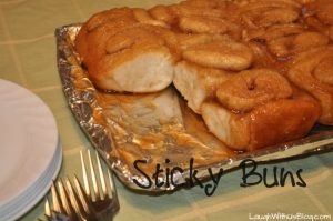 Sticky Buns: Easy, make ahead, bread machine