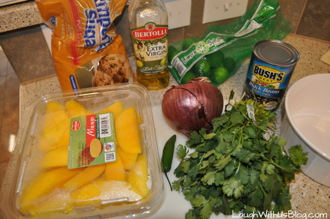 Black Bean Mango Salsa Ingredients