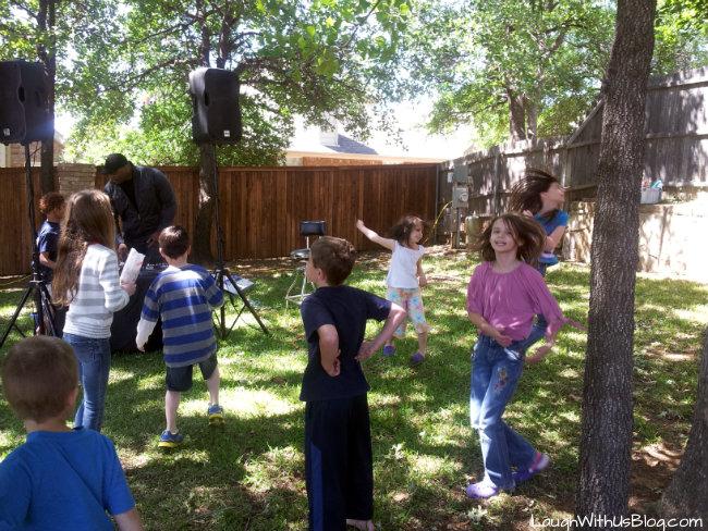 Neighborhood party b