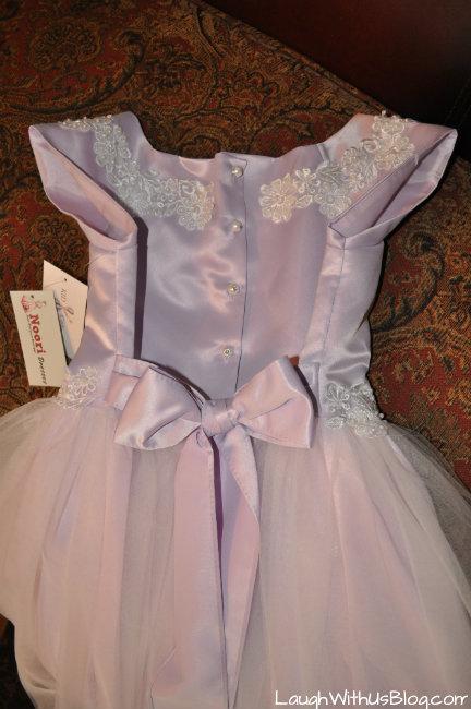 Noori Dress Back
