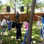 Spring Neighborhood Party and Glow Stick Madness