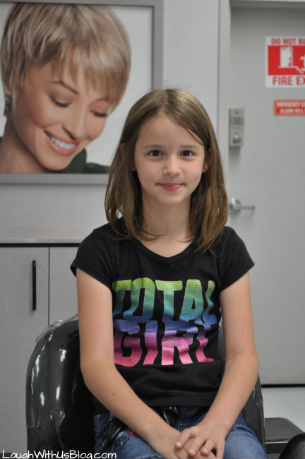 Before hair cut