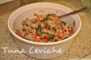 Tuna Ceviche Recipe