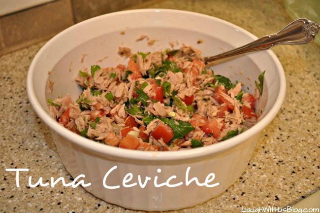Canned ceviche recipe