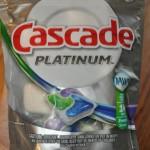 Yea for sparkling dishes!  #CascadePlatinum #sponsored