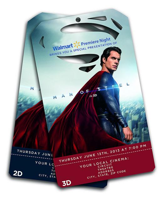 Man of Steel tickets