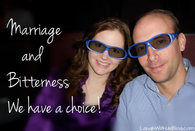 Marriage and Bitterness