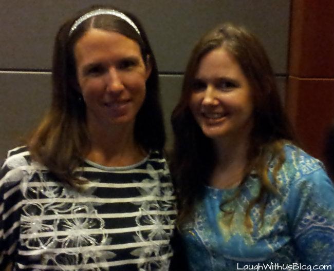 Meeting a blog reader!