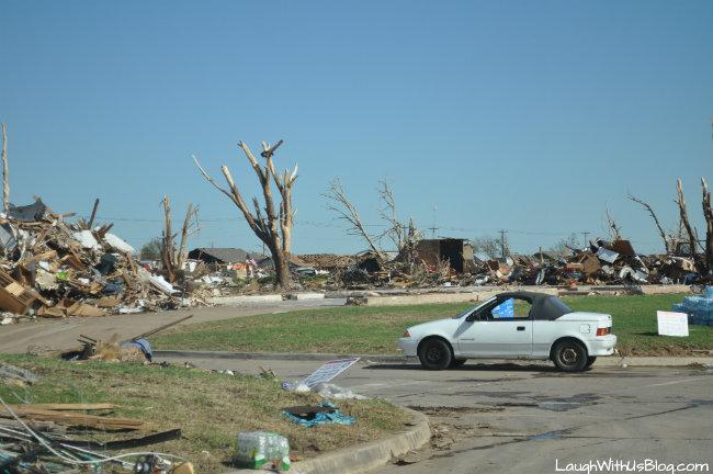 Moore after tornado