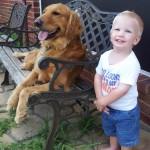 Every boy needs a dog!