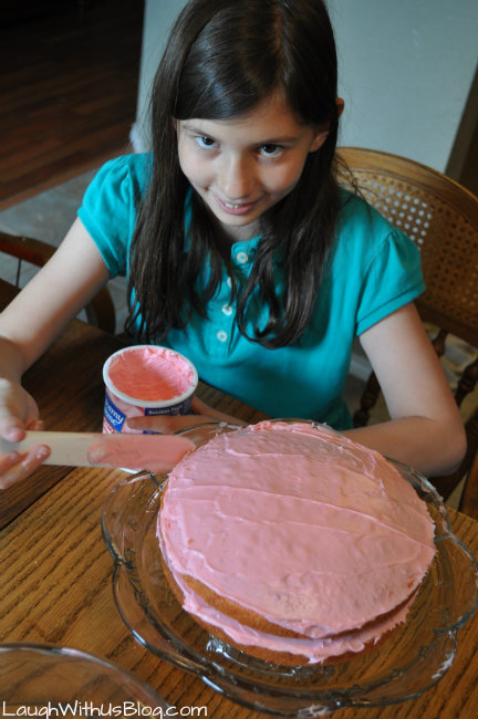 frost my own birthday cake