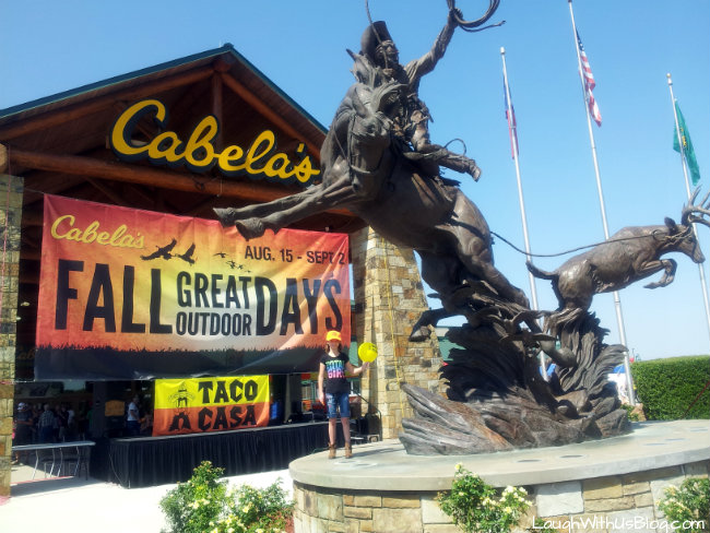 Fall Great Outdoor Days at Cabella's