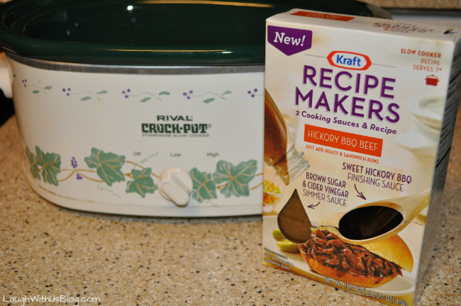 Recipe Makers Hickory BBQ Beef
