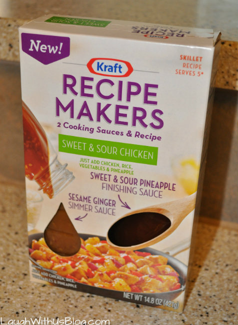 Recipe Makers Sweet and Sour Chicken