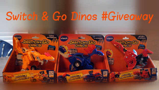 Switch & Go Dinos Giveaway