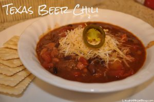 Texas Beer Chili